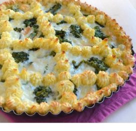 Crostata Broccoli e Provola