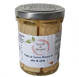Filetti di tonno olio di oliva da 200 gr