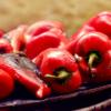 Peperoni cornetti arrostiti