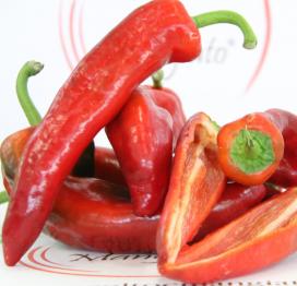 Peperoni cornetti rossi siciliani