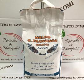 Farina di grano duro Rimacinata da 5 kg