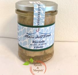 Ricciola in olio di oliva