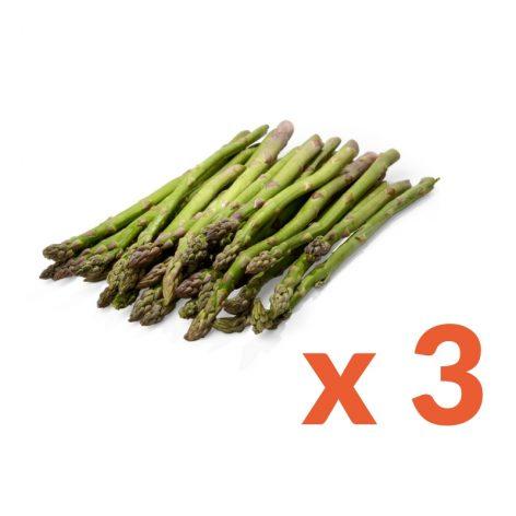 Confezione asparagi 3 mazzi