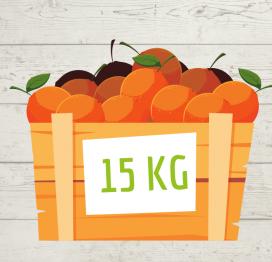 Le Confezioni di Agrumi da 15 kg